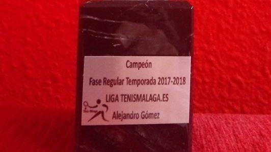 Campeon Liga Tenis Malaga Alejandro Gomez