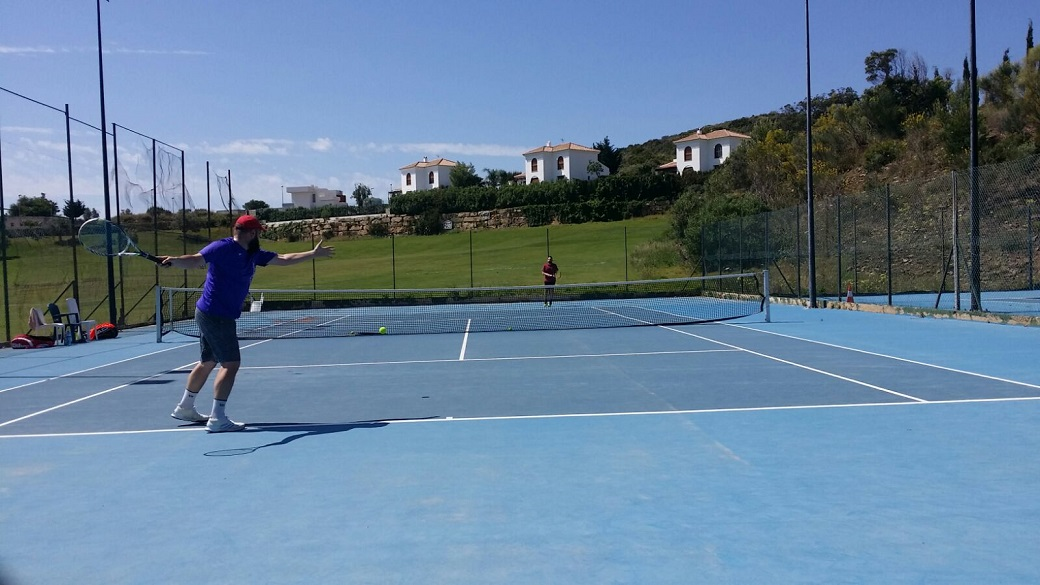 Juan 2 tenis Malaga Cuartos de final play off