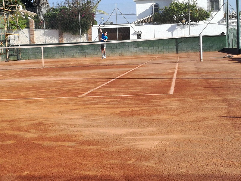 Juan Vilches 2 tenis Malaga Cuartos de final play off