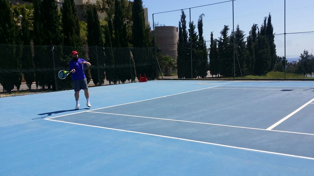 Juan tenis Malaga Cuartos de final play off