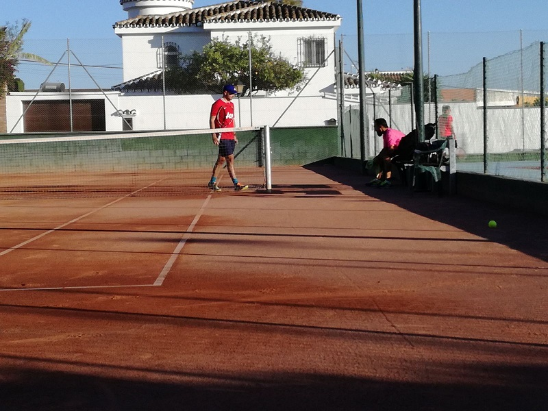 Leo y Ale tenis Malaga Cuartos de final play off