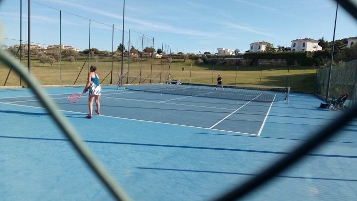 ana octavos play off tenis malaga