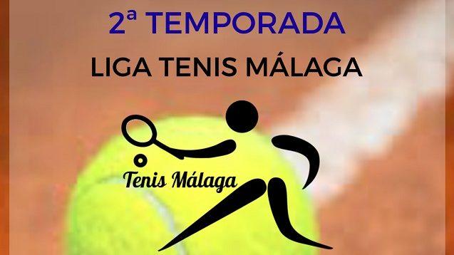Cartel temporada 2 Liga Tenis Malaga b
