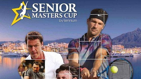 Senior Masters Cup 2018 Cartel Tenis Malaga 2