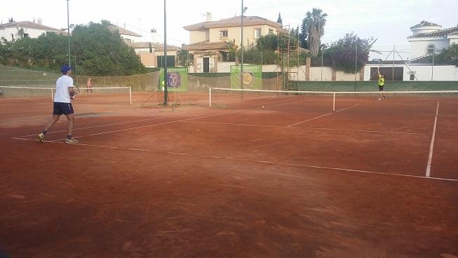 campeon play off A liga tenis malaga 2