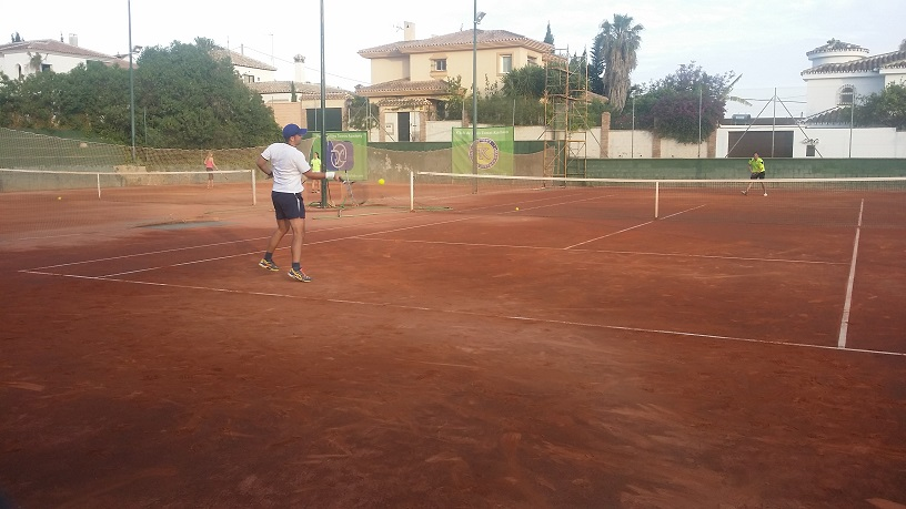 campeon play off A liga tenis malaga