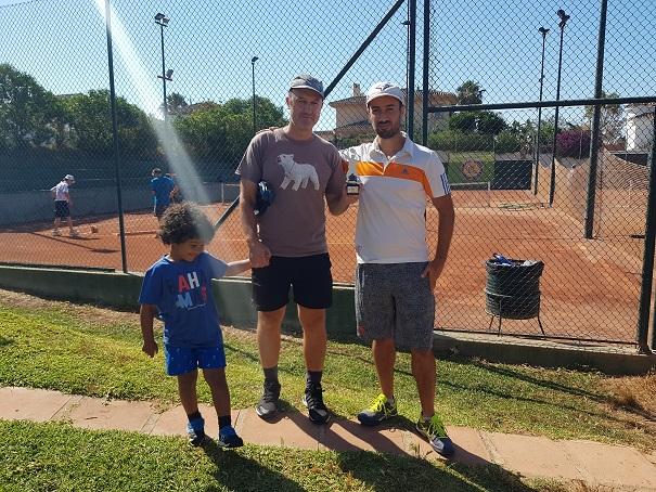 campeon play off B liga tenis malaga