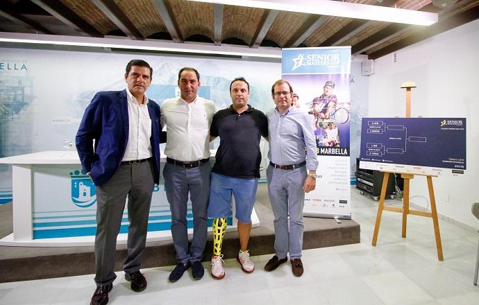 presentacion senior masters cup marbella Tenis Malaga