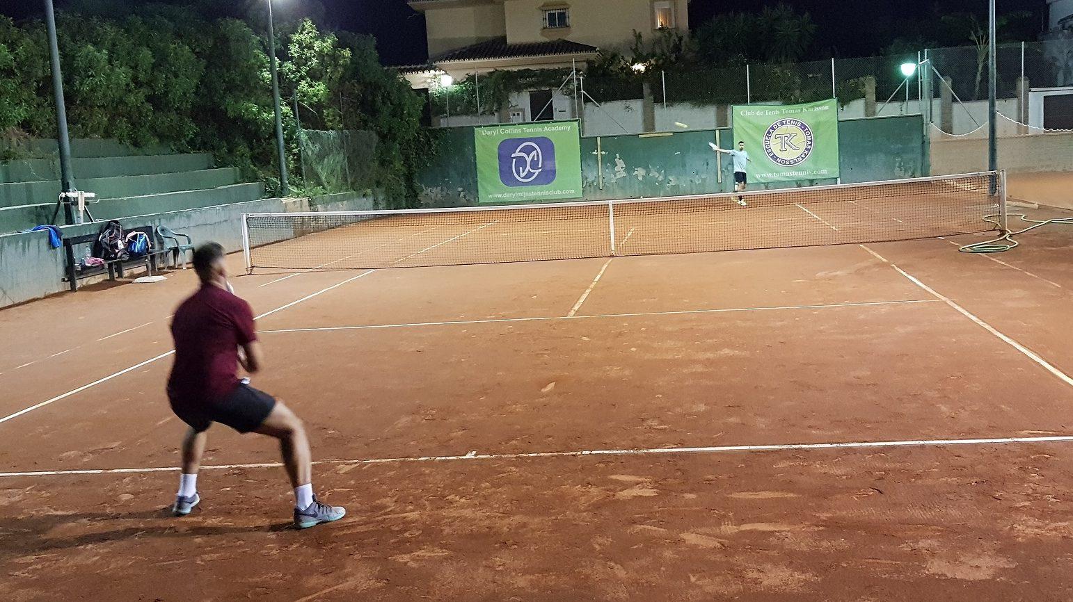 resumen Ciclos 1 y 2 Liga Tenis Málaga temporada 2