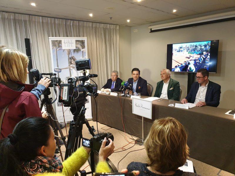 presentacion ATP challenger de Marbella
