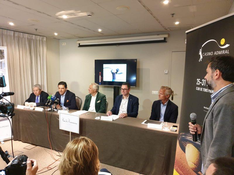 Presentación ATP Challenger de Marbella 2019 2