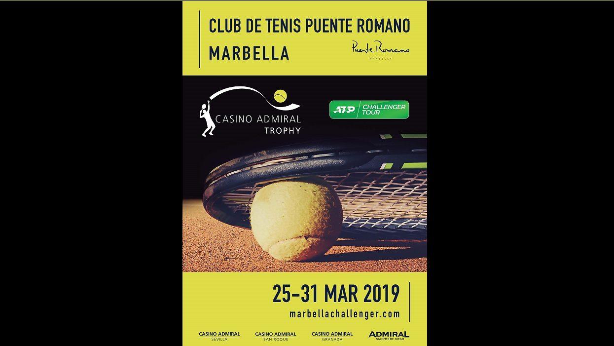 ATP Challenger Marbella 2019 Casino Admyral trophy