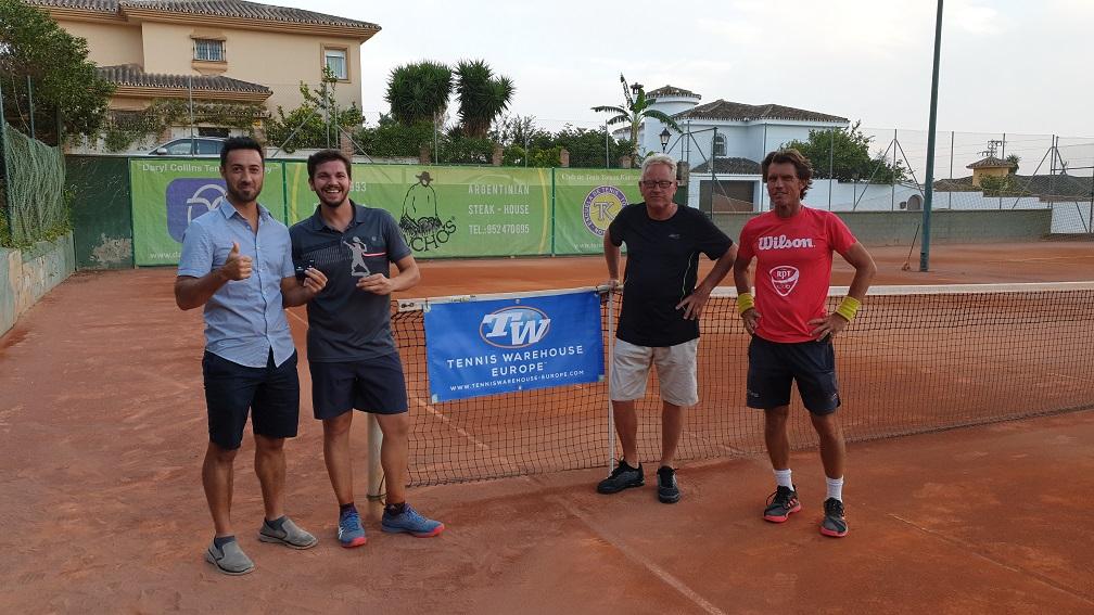 campeones liga tenis malaga campeon play off