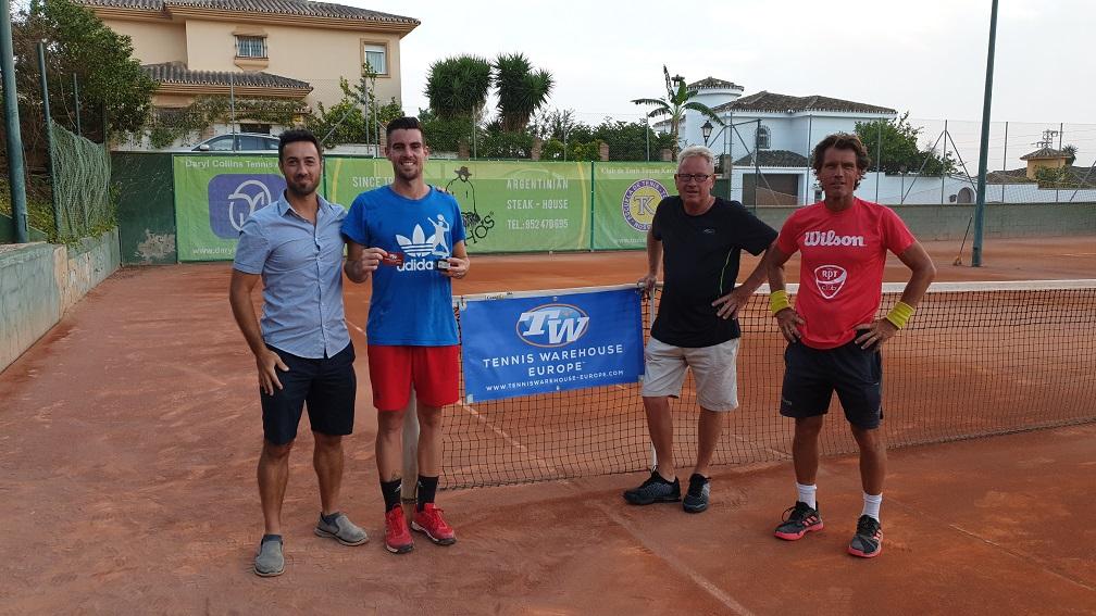 campeones liga tenis malaga subcampeon play off