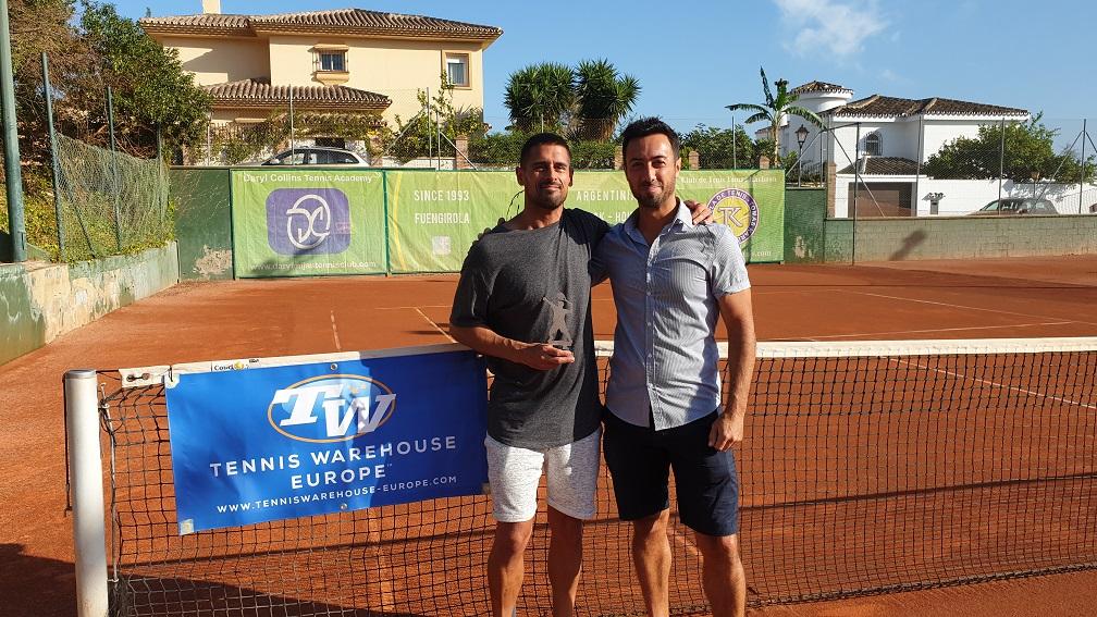campeones liga tenis malaga tercer clasificado