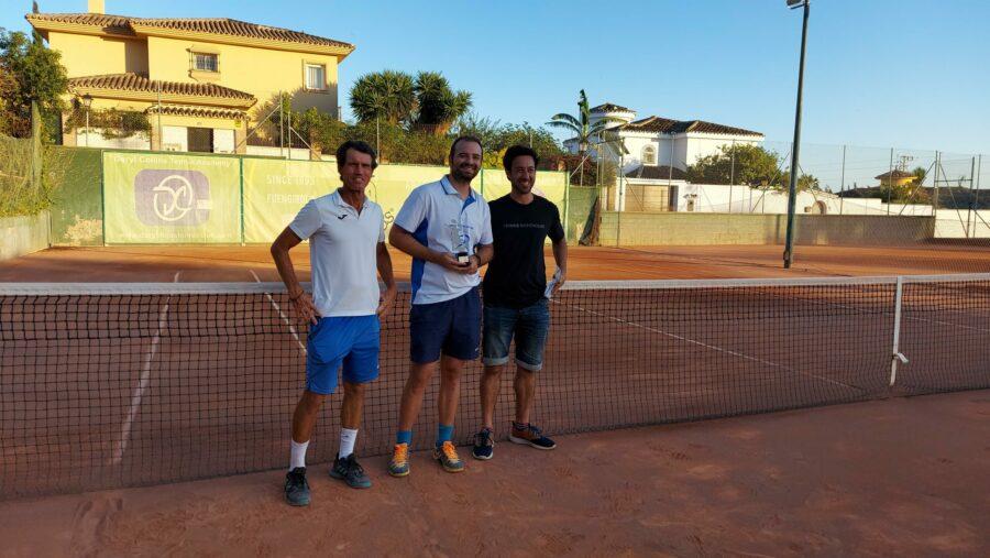 Campeón Fase Regular Temporada 3 Liga Tenis Málaga