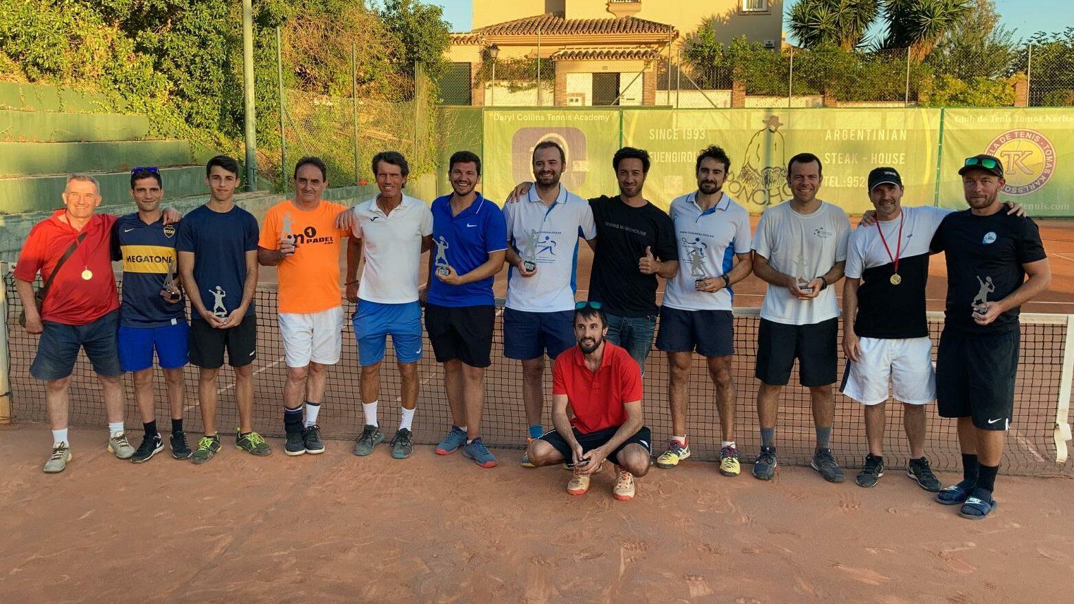 Final temporada 3 Liga Tenis Málaga