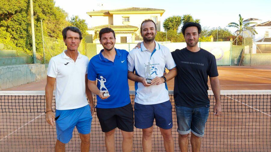 campeon Play Off A temporada 3 Liga Tenis Málaga