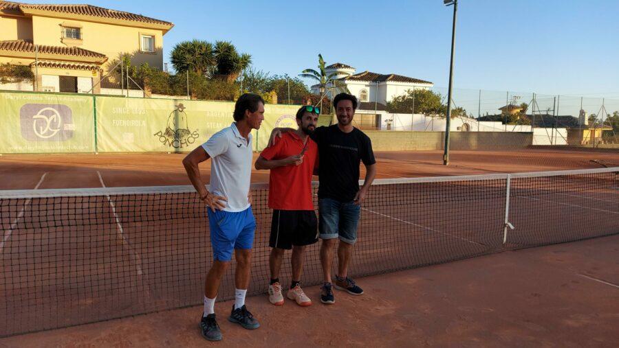 campeon consolacion Play Off A temporada 3 Liga Tenis Málaga