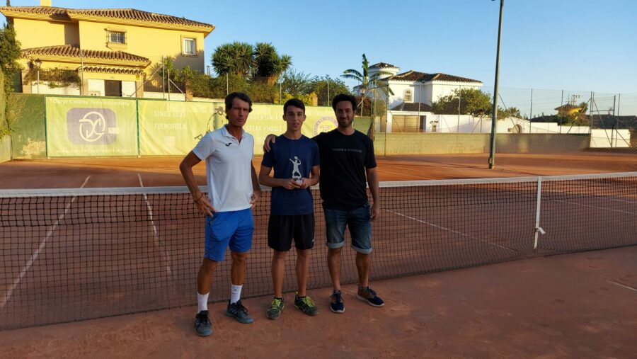 campeon consolacion Play Off B temporada 3 Liga Tenis Málaga