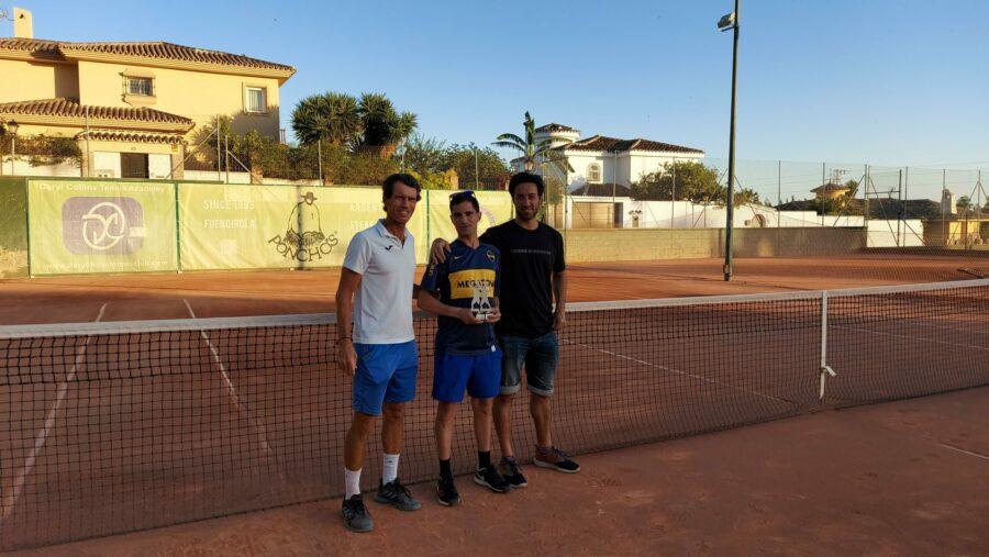 campeon consolacion Play Off C temporada 3 Liga Tenis Málaga