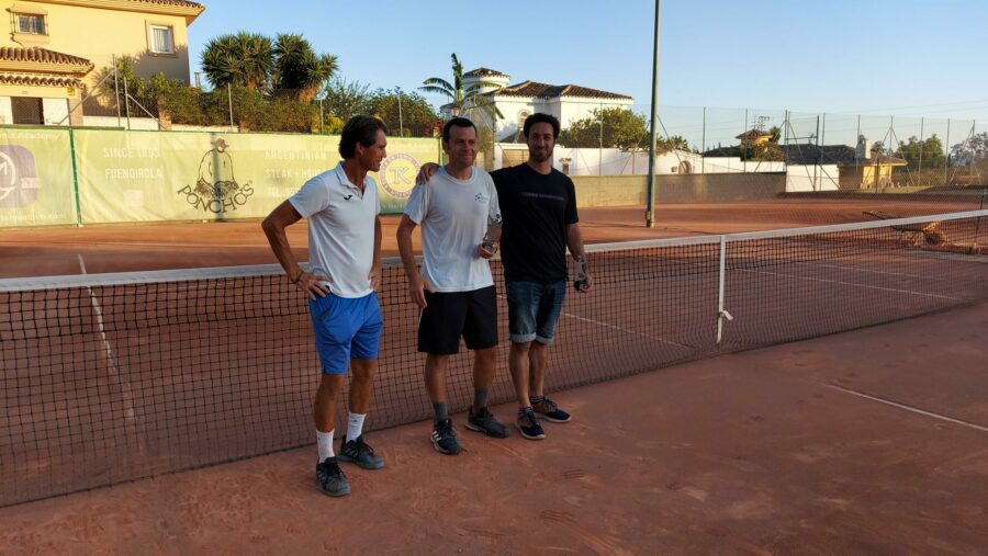 subcampeon Play Off B temporada 3 Liga Tenis Málaga