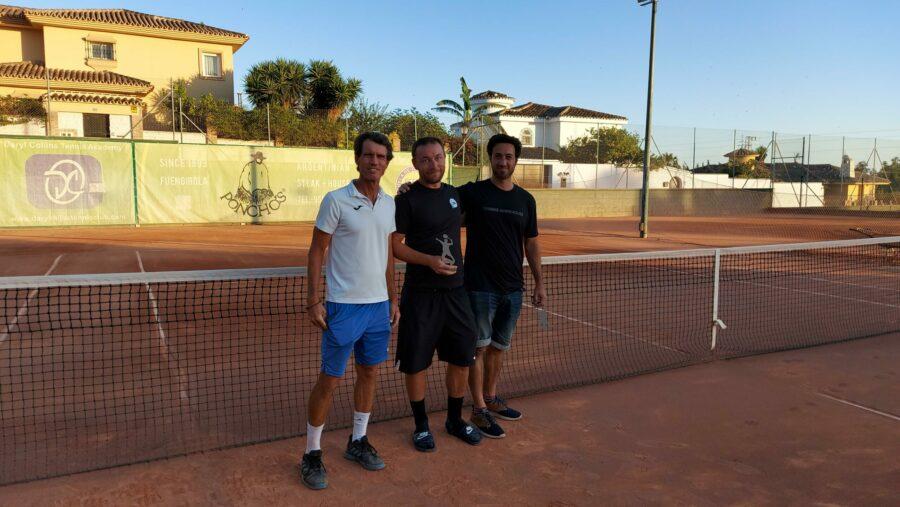subcampeon Play Off C temporada 3 Liga Tenis Málaga
