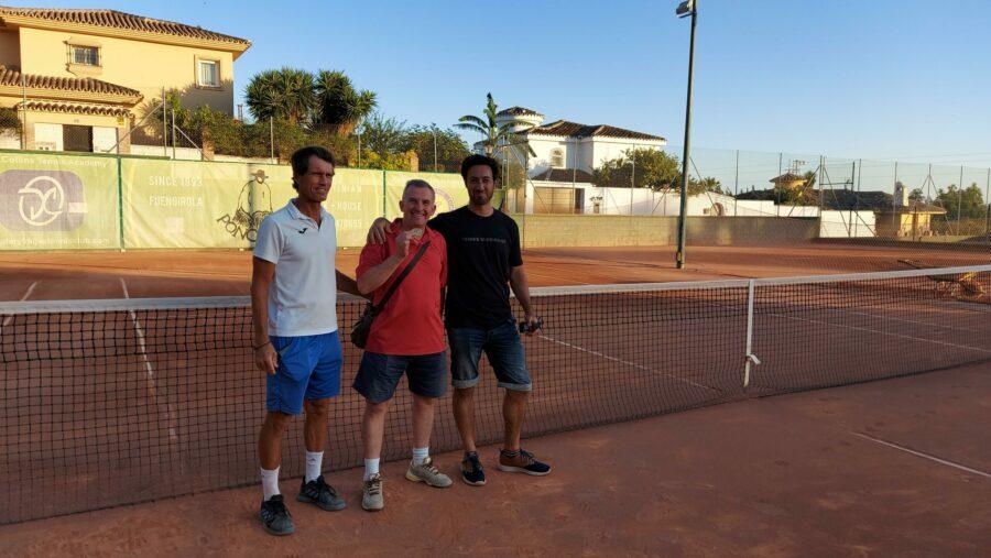 subcampeon consolacion Play Off B temporada 3 Liga Tenis Málaga
