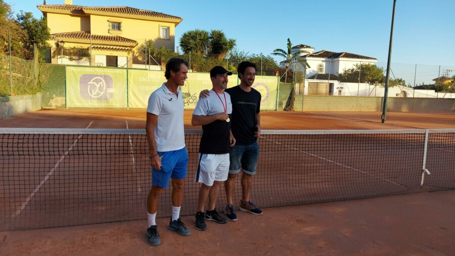 subcampeon consolacion Play Off C 1 temporada 3 Liga Tenis Málaga